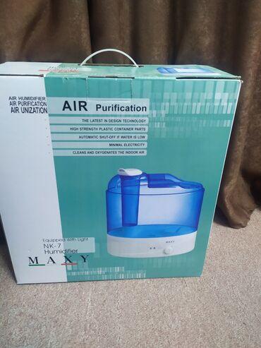Воздухоочистители - Кыргызстан: Продаю увлажнитель воздуха. Состояние 5 из 5. Включали 2 раза всего
