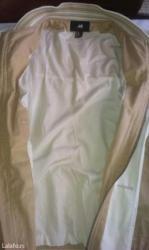 Muska jakna h&m, vel. 52. Nova, nenosena. Tanka, postavljena, za - Belgrade