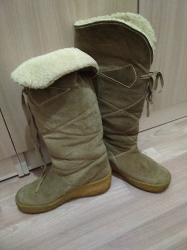 сапоги зимные в Кыргызстан: Зимние сапоги 38 размера в отличном состоянии