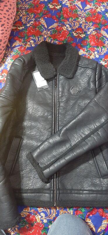Продаю. Совсем новая Кожанная зимняя курткаНовая . Не ношенноеРазмер