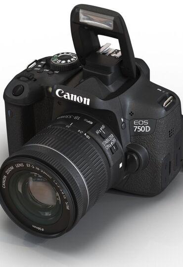 canon 1200 d в Кыргызстан: Canon 750d новый