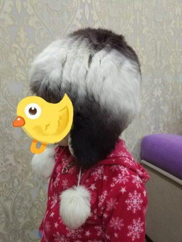 Шапочка женская из натурального меха,очень теплая, состояние отличное в Бишкек