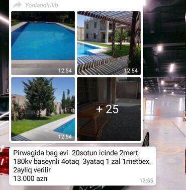 Kirayə Evlər vasitəçidən Uzunmüddətli: 180 kv. m, 4 otaqlı