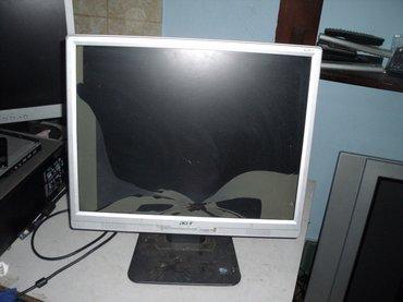 Acer al2017 monitor sa ispravnom masinom ali na zalost 20 inchni ekran - Kraljevo