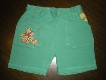 VINI PU ŠORTS BR.80Kvalitetan Disney šorts veličine 80.Zelene boje, sa