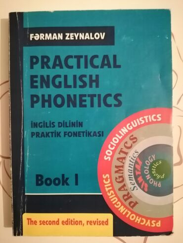 Kitab, jurnal, CD, DVD Lənkəranda: İngilis dili Fonetika Kitabı