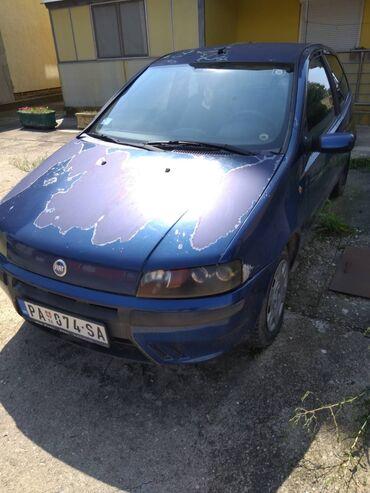 Fiat punto - Srbija: Fiat Punto 1.2 l. 2001 | 200000 km
