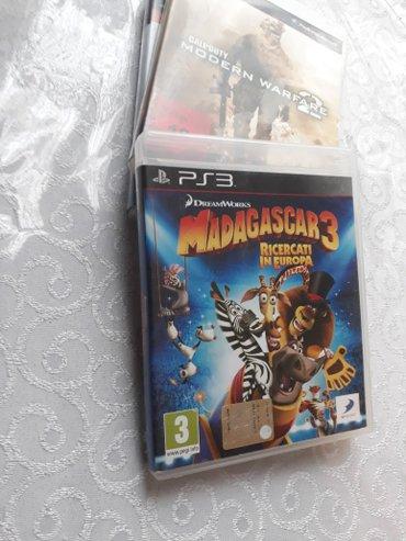 """Bakı şəhərində PLaystation 3 Ucun Original Oyun Diskleri Satılır... """" Madagascar 3"""""""