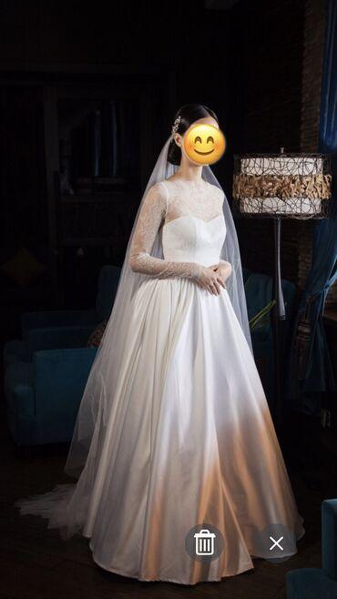 Продаю нежное свадебное платье по себестоимости. Итальянские кружева и