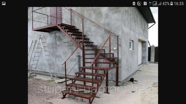 делаю лестницы+ перила. цена договорная в зависимости от сложности и в в Бишкек