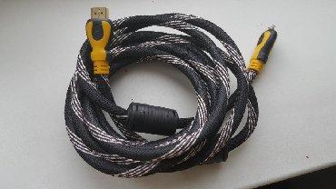 кабели синхронизации thunderbolt 2 male в Кыргызстан: HDMI кабель 3м сам кабель совершенно новый только поврежден один