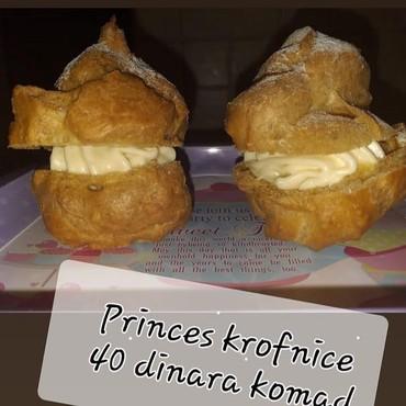 Domace princes krofnice i vaniliceKrofnica 40 dinara - Backa Palanka