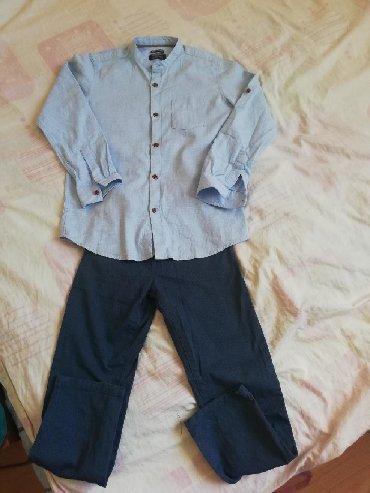 Dečija odeća i obuća - Varvarin: Waikiki kpmplet kosulja i pantalone za decaka 8-9 kao novo