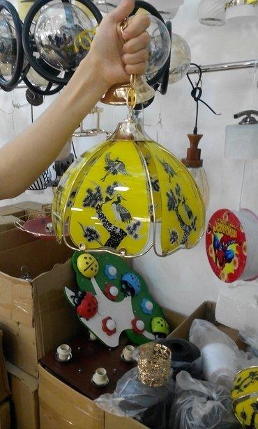Bakı şəhərində Teze lust. Bir lampa.