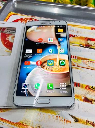 Б/у Samsung Galaxy Note 3 16 ГБ Белый в Бишкек