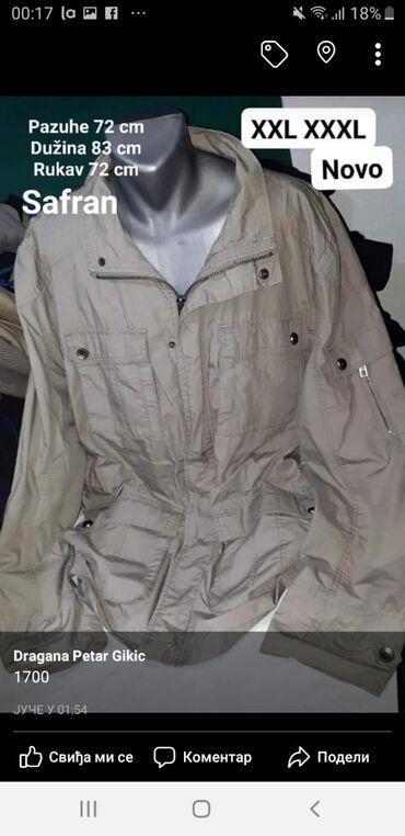 Nova jakna XXL XXXL  safran Kvalitetna Sniženo ✔