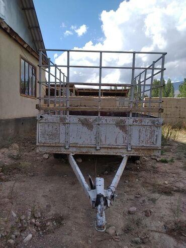 Прицеп двух осьный очень хорошем состоянии прицеп на Ысыкулье село