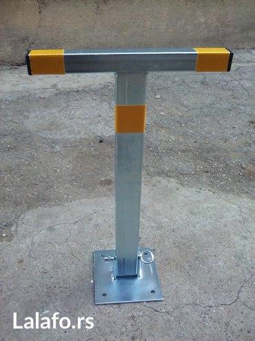 Parking stubic, barijera, cuvar parkinga  - Zabalj