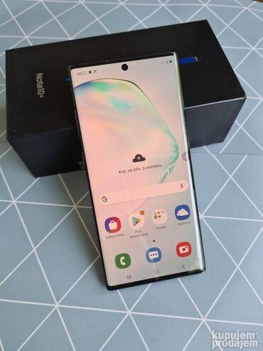 Fiksni telefon - Srbija: Upotrebljen Samsung Note 10 Plus 256 GB crno