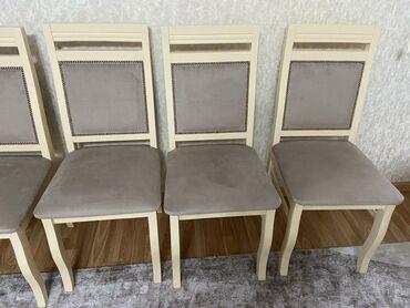 Стол и стулья из сосны новый