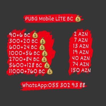 flaşkart qiymətləri - Azərbaycan: PUBG Mobile Lite BC qiymətləri.Sadəcə PUBG Mobile Lite ID verərək 5-10