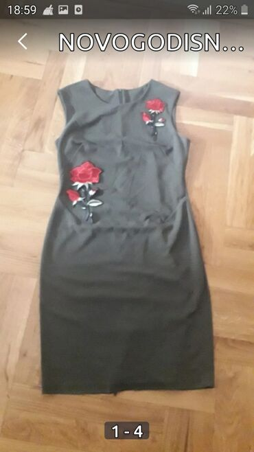 Bluzica katrin - Srbija: NOVOGODISNJA AKCIJAKatrin haljina, nekoriscena.Ima dosts elastina, Vel