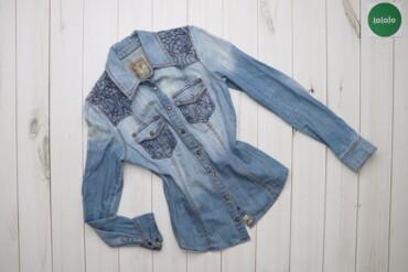 Жіноча джинсова сорочка Guess, р. XS    Довжина: 58 см Ширина плечей