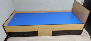 Односпальные кровати - Кыргызстан: Односпальная кровать. Размер : длина 200 см, ширина 80 см