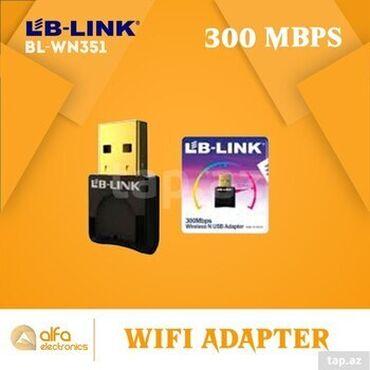 Məhsul: 300 Mbps Wireless N usb Adapter (wifi adapter) Brand: Lb-Link
