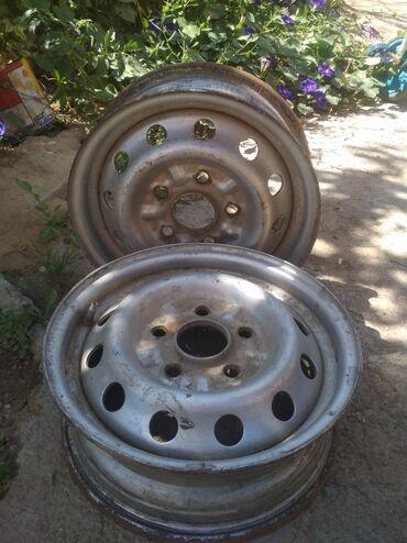 Шины и диски - Шопоков: Продаю пару дисков железо в идеальном состоянии на авто Hyundai Porter