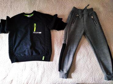 Gang. παντελόνι φόρμα για 6μιση -7 ετών 4 ευρώ.Φουτερ μαύρο mandarino