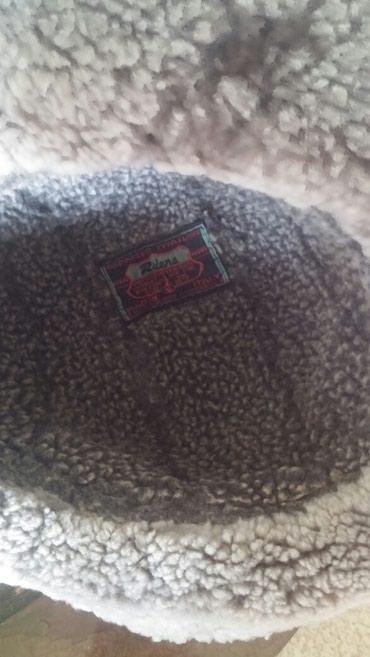 соломенные шляпы в Азербайджан: Шляпа зимняя кожаная, внутри мех овчиний, 20м,размер56