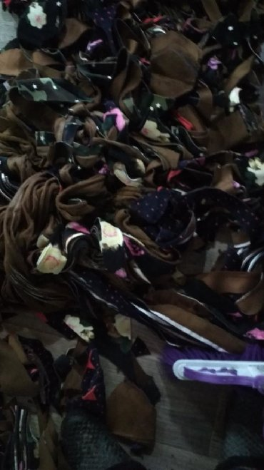 распродажа остатков одежды в Кыргызстан: Остатки материала