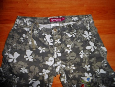 Maskirne-pantalone - Srbija: Bermude maskirne za devojcice vel. 9Maskirne bermude za devojcice