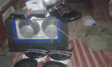 dvigatel n в Кыргызстан: Магнитофон усилитель саб буфер + 2 колонки пионер комплект