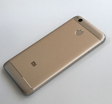 Мобильные телефоны - Бишкек: Б/у Xiaomi Redmi 4X 16 ГБ Золотой