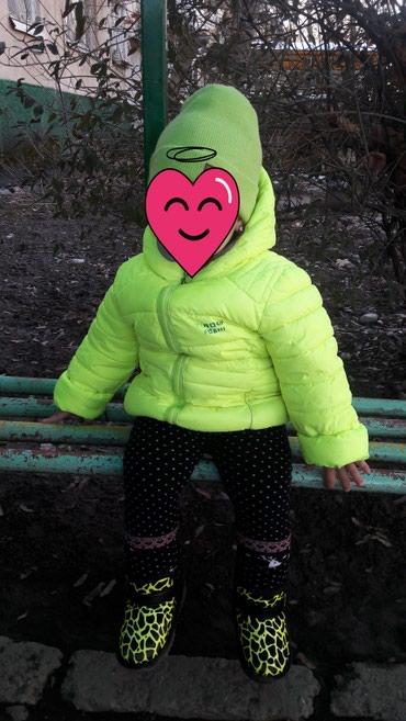 Куртка весна-осень на 2-3г Шапка Обувь -25р в Бишкек