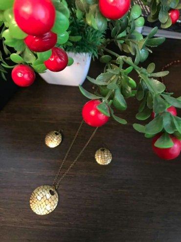 Серьги, цепочка с кулоном, бижутерия от орифлэйм в Сокулук