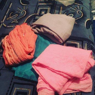 Шарфики и платки женские по 50 сом в Бишкек