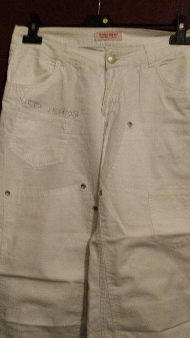 Bele-siroke-pantalone - Srbija: Kapri bele pantalone