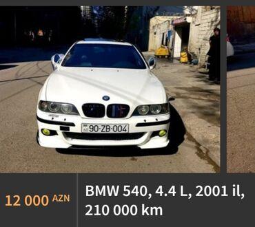 BMW 540 in Azərbaycan: BMW 540 2001   210000 km