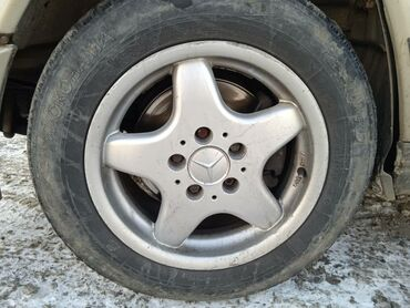 диски мерседес r15 в Кыргызстан: Продаю оригинальные диски R15 Mercedes в городе Бишкек 3 шт. Либо