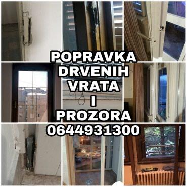 Popravka svih kvarova mehaničko-stolarskog tipa drvenih prozora i - Belgrade
