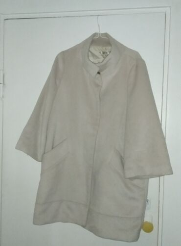 узбекские платья из штапеля в Кыргызстан: Пальто из КореиПальто свободного покроя, бежевое. Покупала в