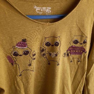 Majica-dug - Srbija: Zelena majica na dugačak rukav, veličina s