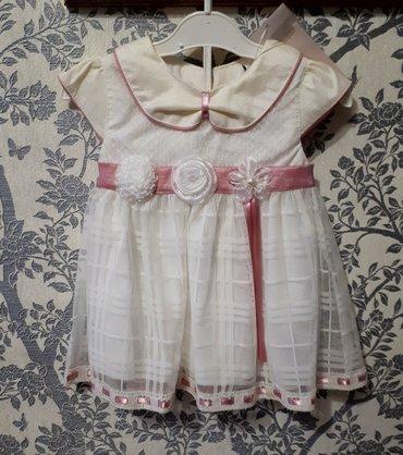 Продаю детские платья, новые. на возраст от 0 до 6 месяцев. в Бишкек