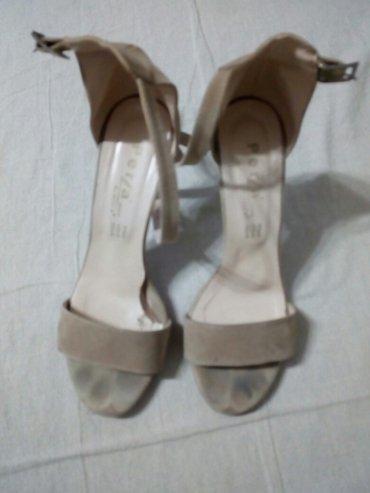 Sandale zenske br.38, duzina gazista 25 cm duzina stikle 10 cm - Nis