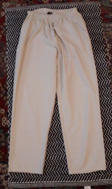 Pantalone cm - Srbija: Letnje pantalone od tankog kepera 4XLObim struka kad se rastegne 120