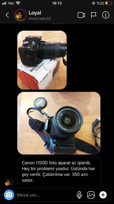 Elektronika Göytəpəda: Canon 1100D foto aparat az işlənib. Heç bir problemi yoxdur