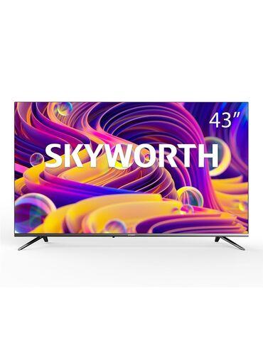 акустические системы sharp колонка сумка в Кыргызстан: Телевизор Skyworth 43 дюйм SMART TV Android 9.0Общие
